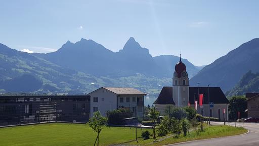 Dorfeingang Lauerz